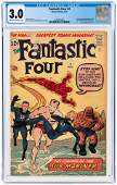 FANTASTIC FOUR #4 MAY 1962 CGC 3.0 GOOD/VG (FIRST