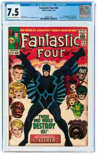 FANTASTIC FOUR #46 JANUARY 1966 CGC 7.5 VF- (FIRST