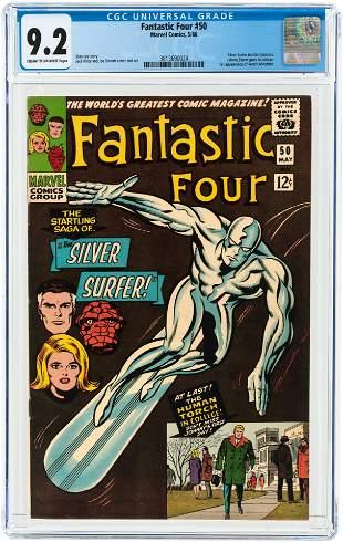 FANTASTIC FOUR #50 MAY 1966 CGC 9.2 NM-.
