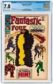 FANTASTIC FOUR #67 OCTOBER 1967 CGC 7.0 FINE/VF (FIRST