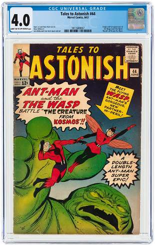 TALES TO ASTONISH #44 JUNE 1963 CGC 4.0 VG (FIRST