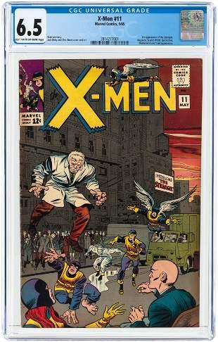 X-MEN #11 MAY 1965 CGC 6.5 FINE+ (FIRST STRANGER).