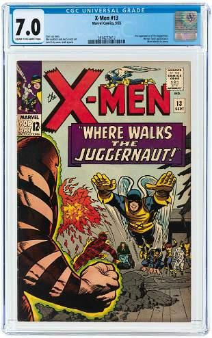 X-MEN #13 SEPTEMBER 1965 CGC 7.0 FINE/VF.
