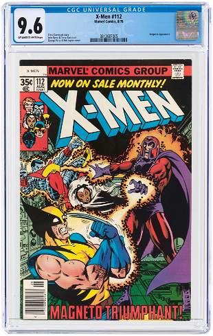 X-MEN #112 AUGUST 1978 CGC 9.6 NM+.