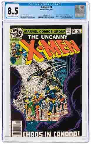 X-MEN #120 APRIL 1979 CGC 8.5 VF+ (FIRST ALPHA FLIGHT