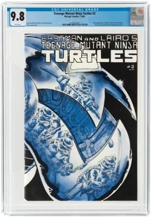 TEENAGE MUTANT NINJA TURTLES #2 1984 CGC 9.8 NM/MINT