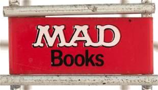 MAD MAGAZINE & BOOK RARE WIRE SALES RACK.