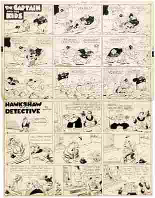 THE CAPTAIN AND THE KIDS & HAWKSHAW THE DETECTIVE 1943