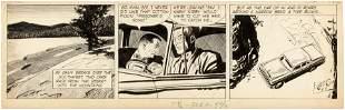 RIP KIRBY 1955 DAILY STRIP ORIGINAL ART BY ALEX
