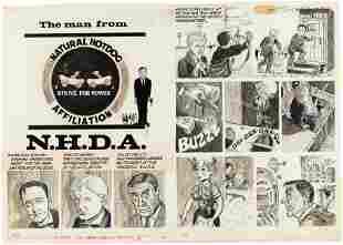 DRAG CARTOONS #12 THE MAN FROM U.N.C.L.E. SPOOF