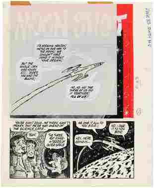 """BIG DADDY ROTH #4 """"MOON SHOT"""" COMPLETE COMIC STORY"""