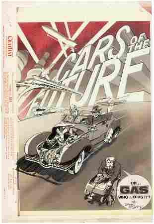 "HOT ROD CARTOONS/CARtoons ""CARS OF THE FUTURE"" COMPLETE"