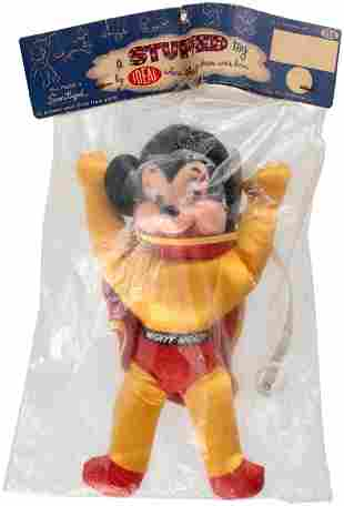 MIGHTY MOUSE BAGGED IDEAL DOLL.