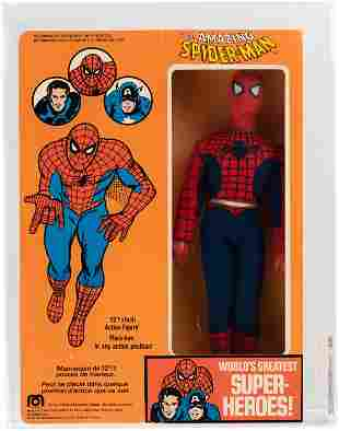 """MEGO THE AMAZING SPIDER-MAN 12.5"""" FIGURE BOXED PARKDALE"""
