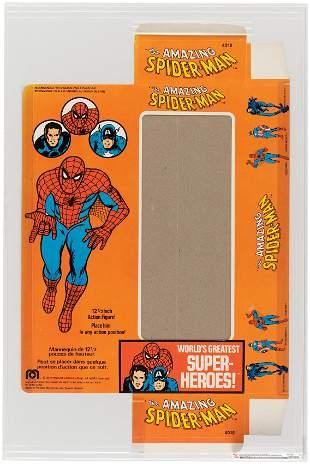 "MEGO THE AMAZING SPIDER-MAN 12.5"" FIGURE CANADIAN BOX"