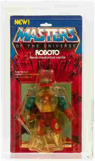 TEST SAMPLE MASTERS OF THE UNIVERSE - ROBOTO SERIES 4