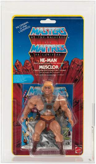 MASTERS OF THE UNIVERSE - HE-MAN EUROPEAN (YELLOW