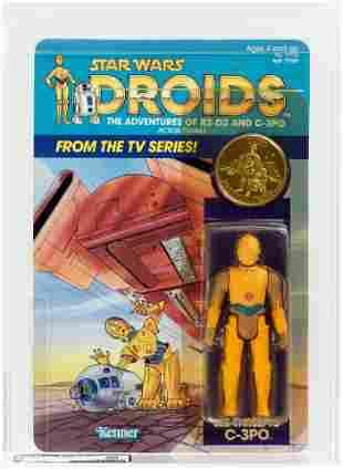 STAR WARS: DROIDS - C-3PO AFA 80 Y-NM.