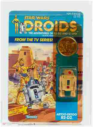 STAR WARS: DROIDS - R2-D2 AFA 75 Y-EX+/NM.