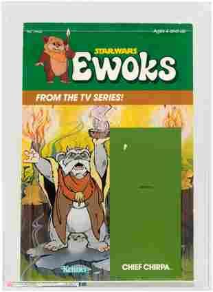 STAR WARS: EWOKS - SERIES 2 CHIEF CHIRPA CROMALIN PROOF