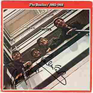 THE BEATLES - JOHN LENNON, PAUL McCARTNEY & RINGO STARR