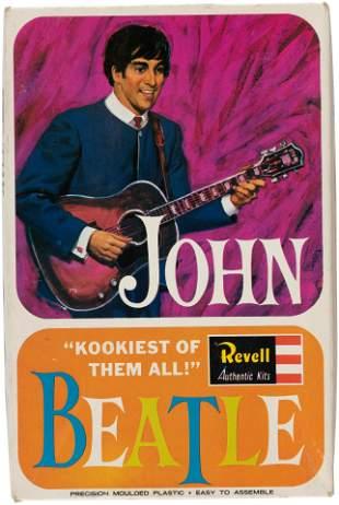 THE BEATLES JOHN LENNON RARE UK MODEL KIT.
