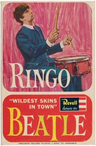 THE BEATLES RINGO STARR FACTORY-SEALED MODEL KIT.
