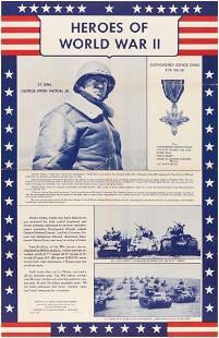 """HEROES OF WORLD WAR II"" LT. GEN PATTON AND USS"