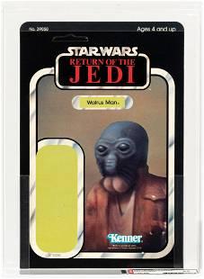 STAR WARS: RETURN OF THE JEDI - WALRUS MAN PROOF CARD