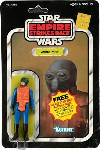STAR WARS: THE EMPIRE STRIKES BACK - WALRUS MAN ACTION