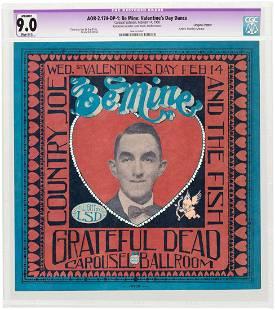 "GRATEFUL DEAD ""BE MINE: VALENTINE'S DANCE"" CAROUSEL"