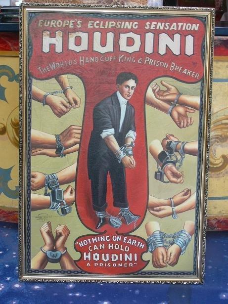 22: Oil Painting «Houdini»