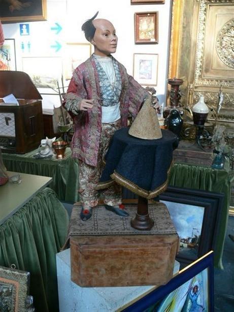 50: Magician Automaton «Chinese»