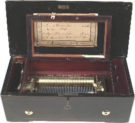 11:Brémond 8¼in Cylinder Music Box