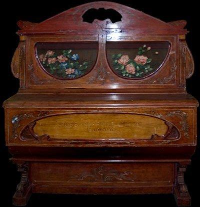 10: A Barrel Piano made by G. Rossi, Peppena e Figlio,