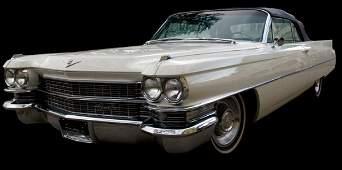 230: Cadillac Convertible, 1962.