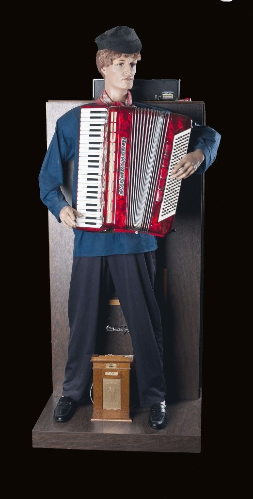 004: Computer controlled Accordion Player