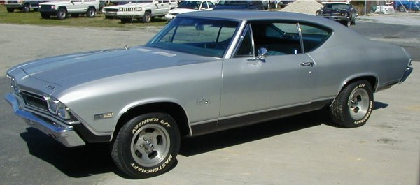 11: 1968 Chevrolet Chevelle
