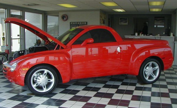21: 2004 Chevy SSR Convertible