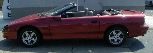 24: 1997 Chevy Camaro Z28 Convertible