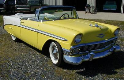 53: 1956 Chevy BelAir Convertible - A Must See!