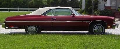 28 1975 Chevrolet Caprice Convertible