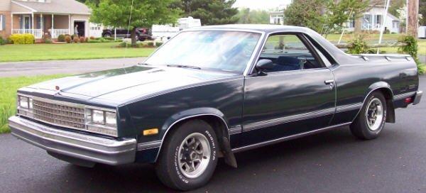 6: 1987 Chevy El Camino