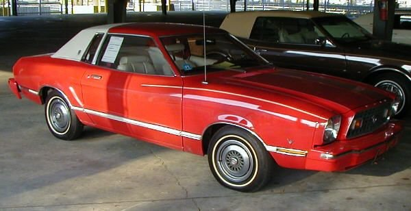 3: 1976 Ford Mustang