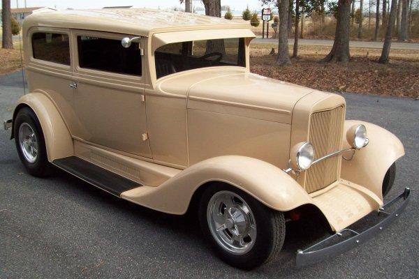 7: 1930 Chevy Sedan