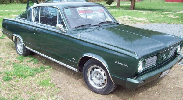 8: 1966 Plymouth Barracuda