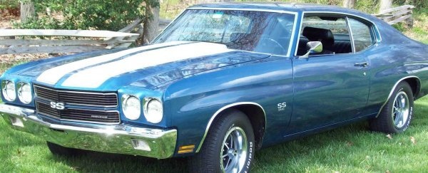 24: 1970 Chevy Chevelle SS 396