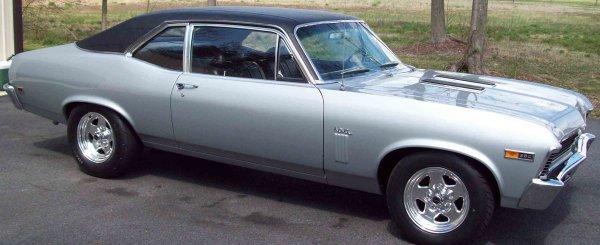 17: 1969 Chevy Nova SS 350