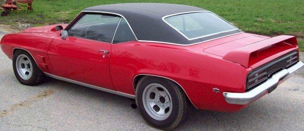 14: 1969 Pontiac Firebird 350