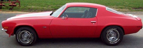 13: 1971 Chevy Camaro RS Z28